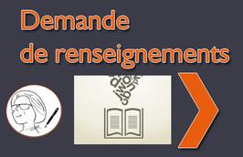 demande renseignements, écrivain public, Anne Pinturier, 38490 Saint André le Gaz
